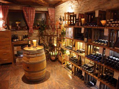 Waldeck SPA Kur Wellness Resort vine cellar