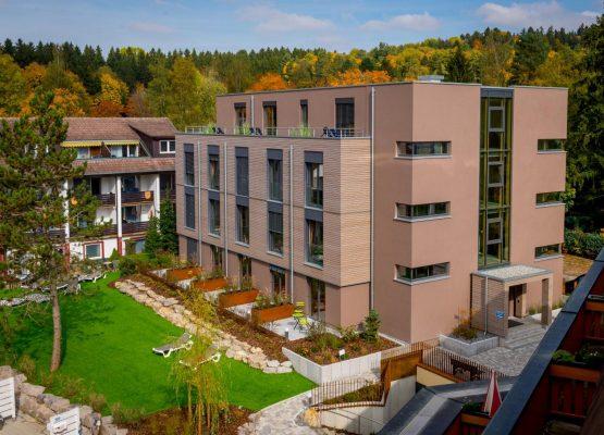Waldeck SPA Kur Wellness Resort wooden hotel